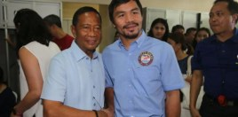 Pacquiao Showing Glimpses