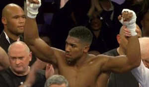 Anthony Joshua Reacts To Carlos Takam