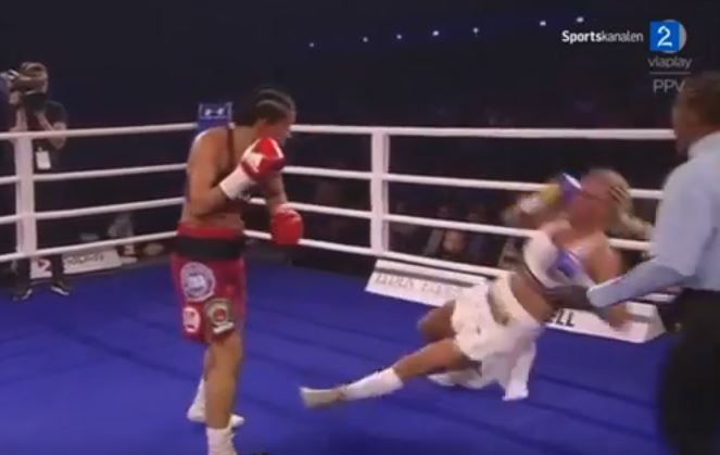 Only Current Undisputed World Champion Boxer Records Impressive TKO