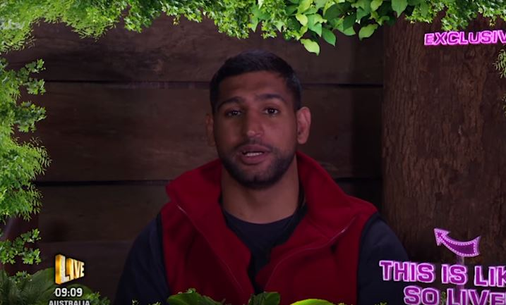 The Internet Reacts To Amir Khan Im A Celebrity Snake Run-In