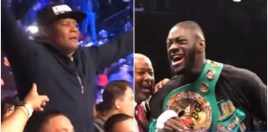 Ortiz Reveals What He Said To Deontay Wilder