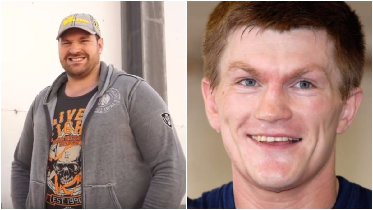 Tyson Fury Reacts To Ricky Hatton After Fat Jokes