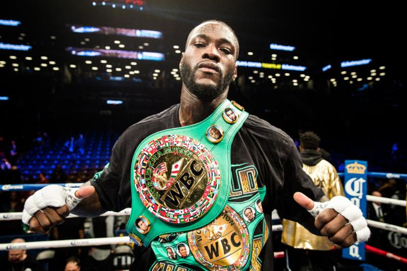 Deontay Wilder Announces New Addition To Management Team