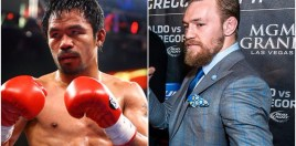 Manny Pacquiao's Team React To Conor McGregor's Boxing Offer