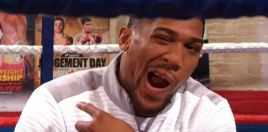 Anthony Joshua Could Be Showing Signs Of Madness
