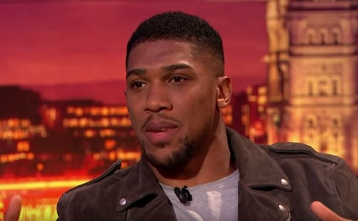 Anthony Joshua Sends Message To His Enemies