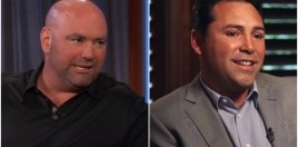 Dana White Explains Beef With Oscar De La Hoya