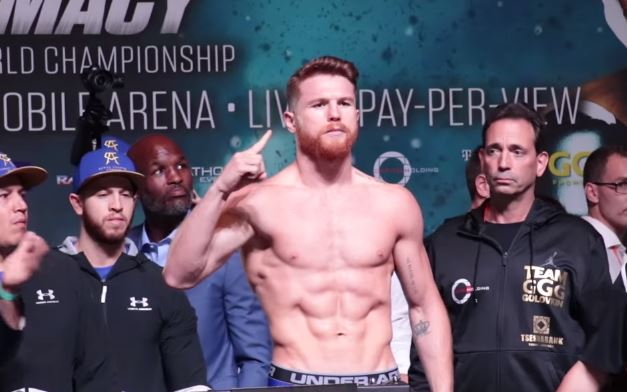 Canelo Given Reduced Suspension From The NSAC
