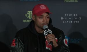 Spence vs Peterson Press Conference