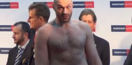 Tyson Fury Sets 2018 Record