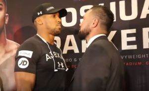 joshua and parker face off