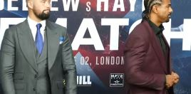 Bellew's Priceless Reaction To Haye