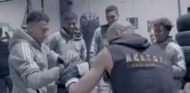 Eubank Jr Smashes The Pads