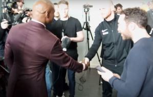 Groves Disgusted With Chris Eubank