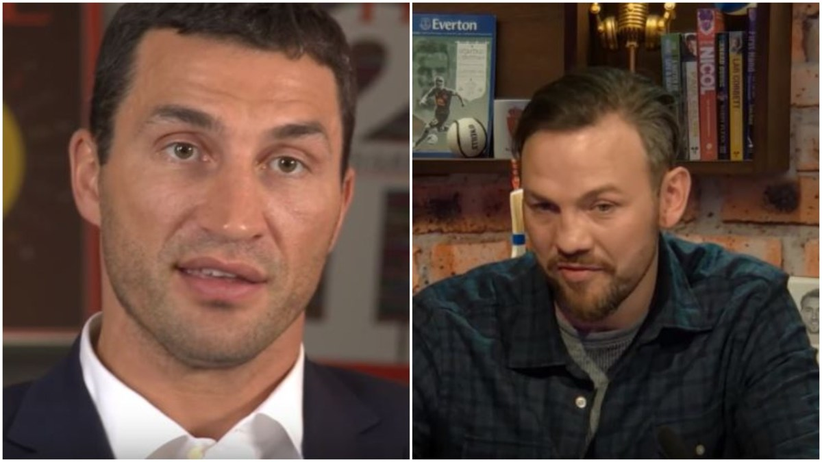 Klitschko Sends Moving Message To Andy Lee After Retiring