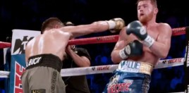 Scored Golovkin vs Canelo