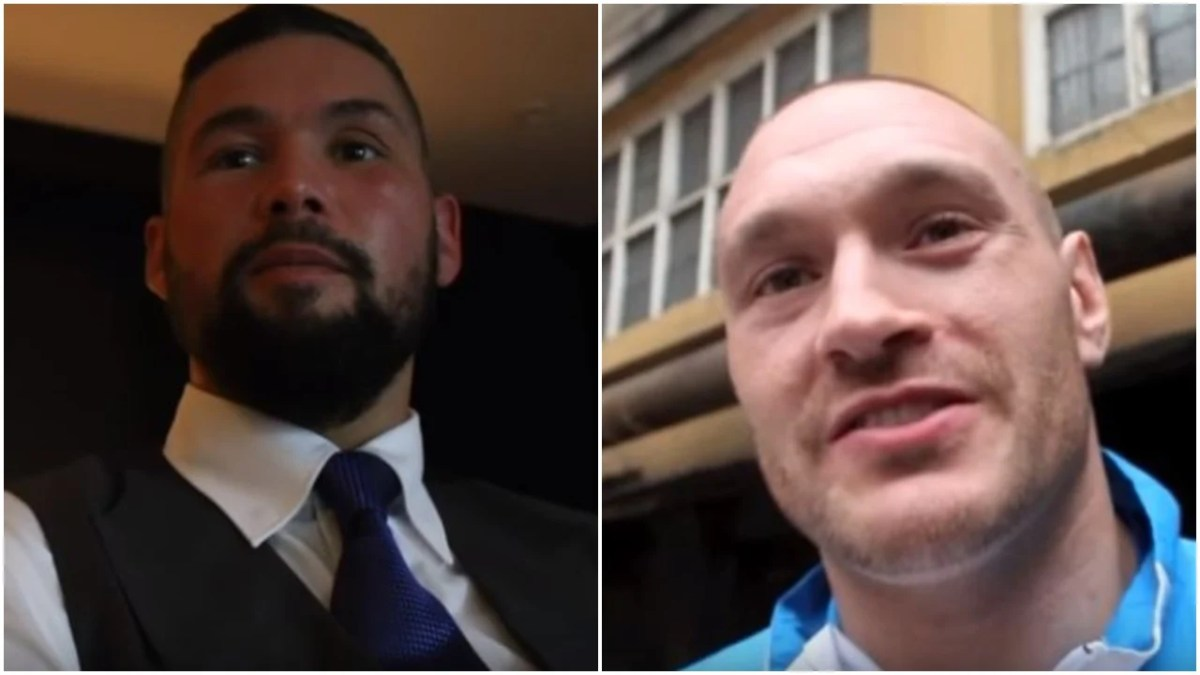 Tony Bellew v Tyson Fury Stadium Fight In Play - Bellew Gives Reaction