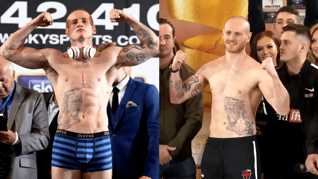 Before and After Photo Of Groves Has People Talking Before Eubank Fight