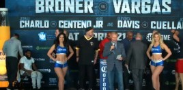 Broner v Vargas Weigh In