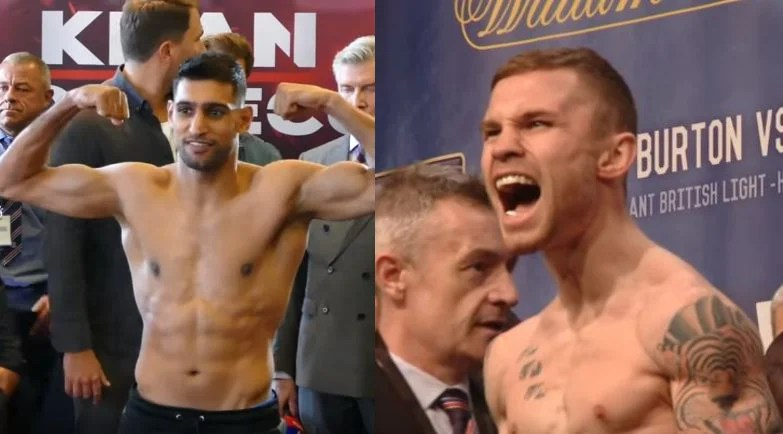 Khan and Frampton Go Head To Head On TV