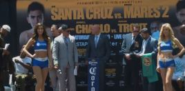 Charlo v Trout and Santa Cruz v Mares Weigh In Results