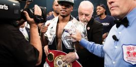 Errol Spence Talks Terence Crawford