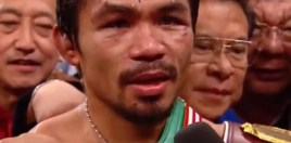 Pacquiao Brings Big Time Boxing