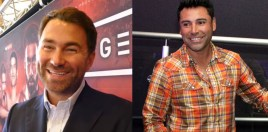 Hearn Reacts To De La Hoya