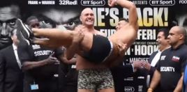 Tyson Fury Weighs In