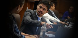 Pacquiao Thinking About Becoming President