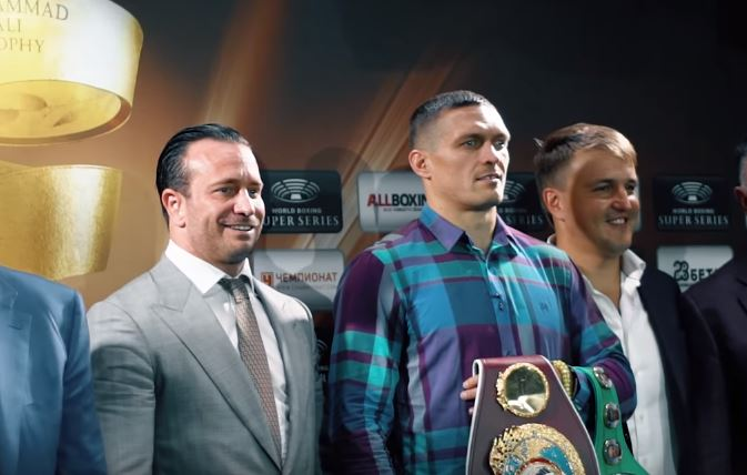 Usyk vs Gassiev Time of Fight Tonight