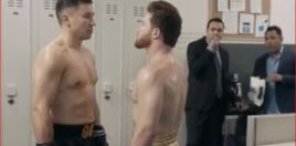 New ESPN Ad Puts Golovkin and Canelo Awkwardly Next To One Another - Hatred Palpable
