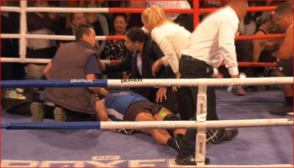 Corporate Boxing Match Ends In Carnage     The Brutal KO Moment     Recently a corporate boxing match screened in the Southern Hemisphere has  made headlines in recent days after a white collar boxing match between two