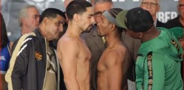 Incredibly Intense Danny Garcia and Shawn Porter Face Off At Weigh-In