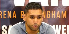 Khan Gets Up Off The Floor To Beat Vargas