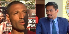 Manny Pacquiao vs Kell Brook