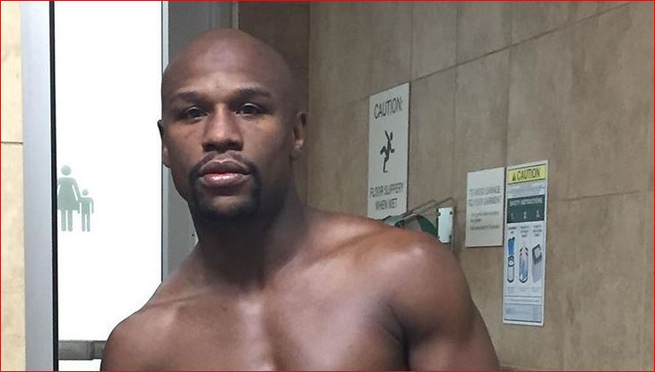 Mayweather Shows Off Ripped Physique After Just 1 Week Of Training For Pacquiao Rematch