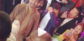Watch Mayweather Confronts Pacquiao In Japan
