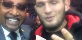 Khabib Calls Out Floyd Mayweather After Conor McGregor Win