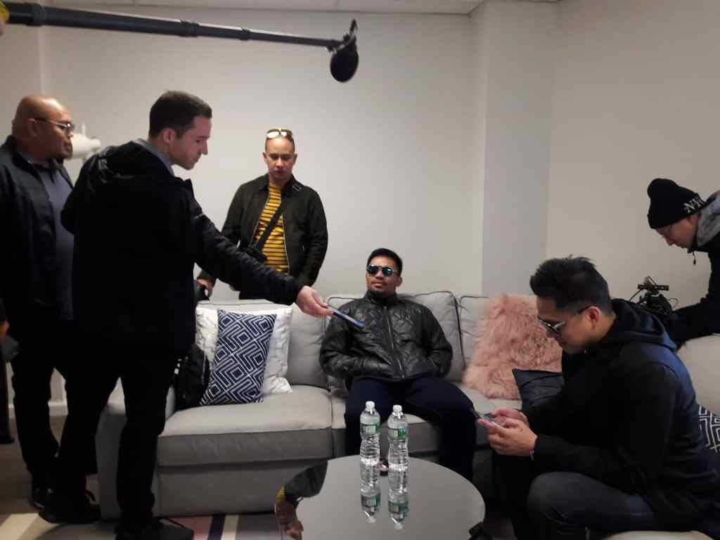 Pacquiao Arrives In New York Ahead Of Broner Press Conference