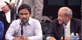 Bob Arum On Reasons Outside Of The IRS Tax Problem Why The Pacquiao Split Happened