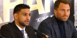 Eddie Hearn Cleverly Leaves Something Out In Latest Khan vs Brook TV Interview