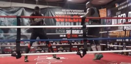 Footage Shows Deontay Wilder Sparring Partner Mimicking Tyson Fury
