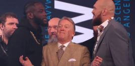 The Moment Tyson Fury Put Pen To Paper For Deontay Wilder 3 Fight