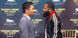 The Moment Manny Pacquiao Burst Out Laughing In Adrien Broner's Face