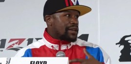 Mayweather Has Strange Comments About Confirmed Opponent - Many Believe Bout Will Be Staged