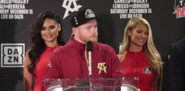 Canelo Brings Up Golovkin After Fielding Win