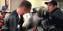 Canelo Shows Off Monster Shape Ahead Of Super-Middleweight Debut