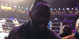 Deontay Wilder Reacts To Dillian Whyte Knocking Out Dereck Chisora