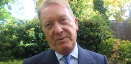 Frank Warren Reveals Coincidental Plan For Anthony Joshua April 13th Wembley Date
